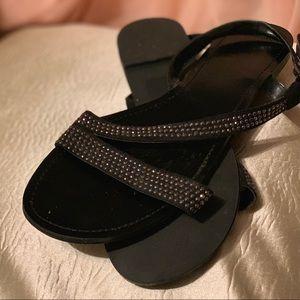 Silver Stunning Express Sandals ;)
